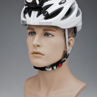 LED Lenser kinnituskomplektiga jalgratta kiivril
