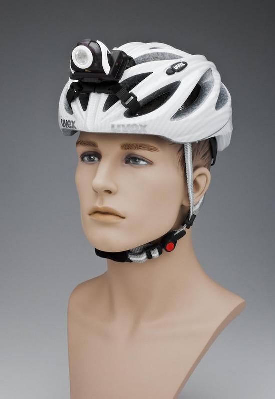 LED Lenser jalgratta kiivril