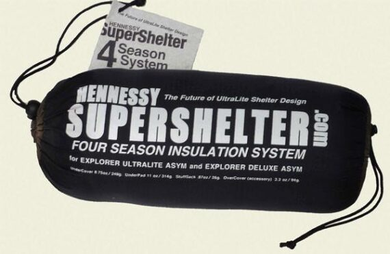 Hennessy Supershelter soojustus
